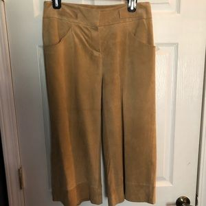 Pants - Leather Gaucho Style Pants